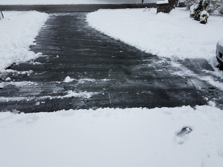 Why do driveways sink?