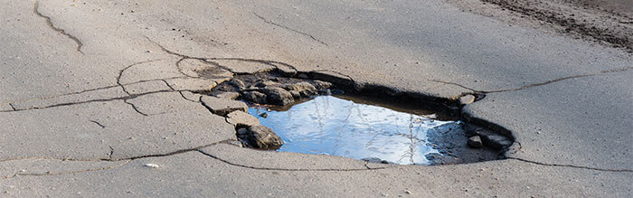 Pothole Repair in Minneapolis, Minnesota